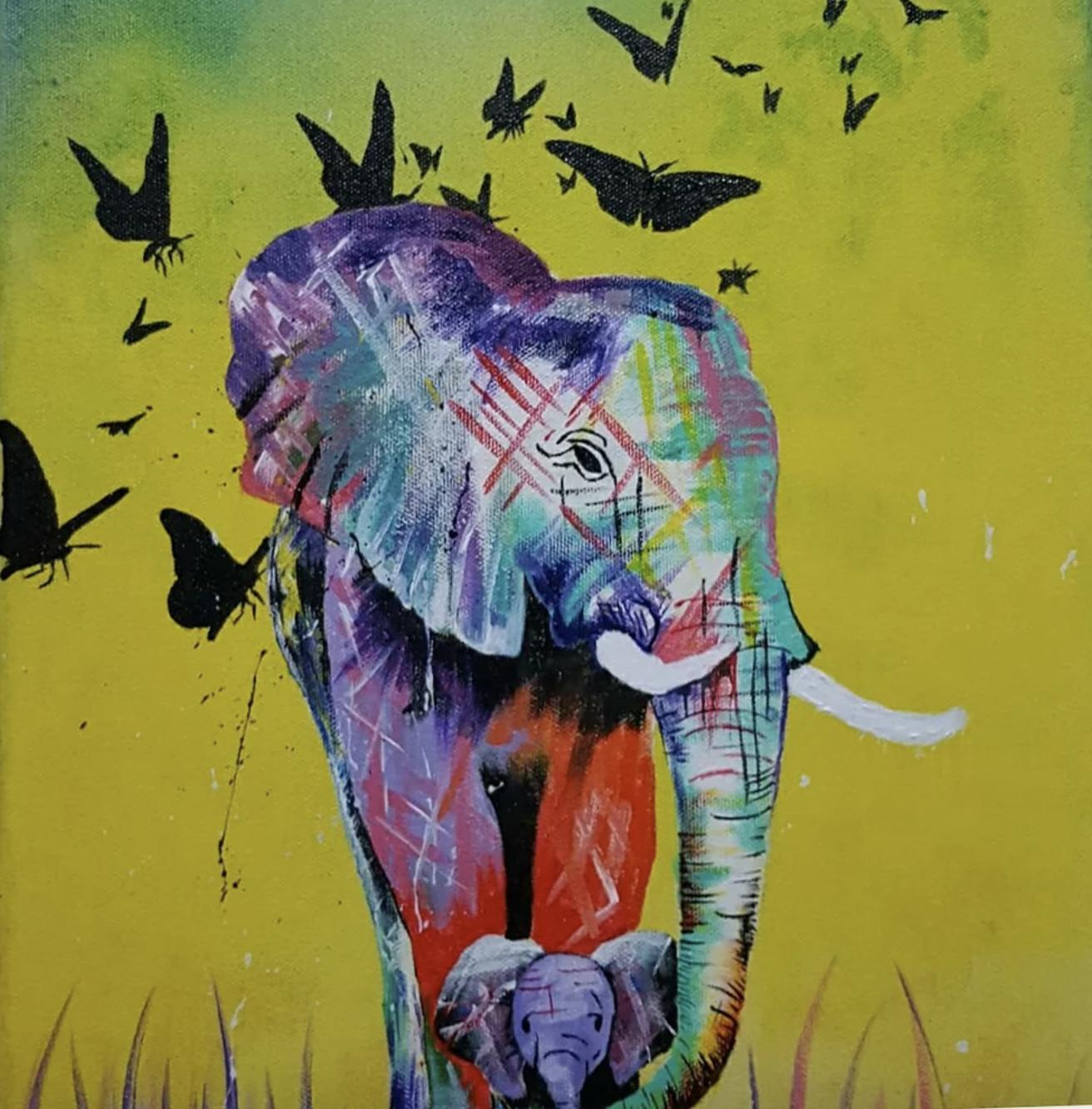 abstract-elephants